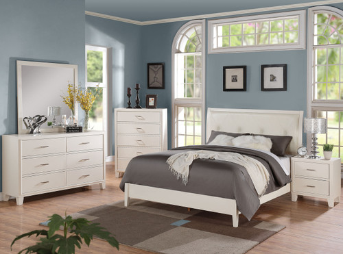 Augustine White Bedroom Set