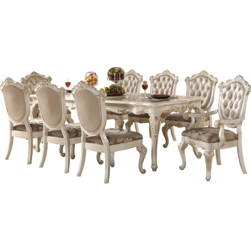 Antoinette Pearl 9 Piece Dining Set