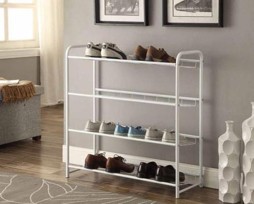 Baker Shoe Rack- White