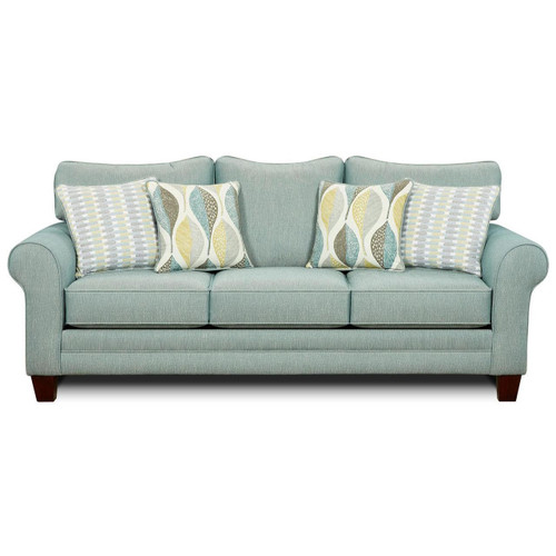 Aleph Soft Teal Sofa