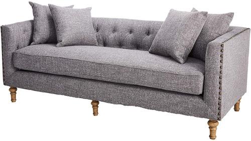Aina Grey Fabric Sofa