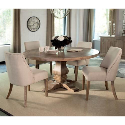 "Callum 60"" Wide Round Dining Table"