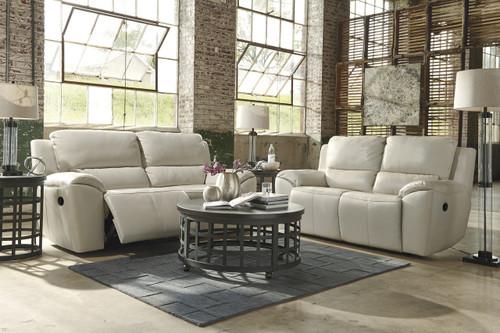 Erwan Leather Reclining Livingroom Set