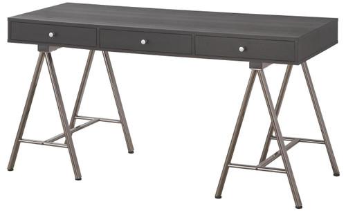 Cain Black & Gray Desk