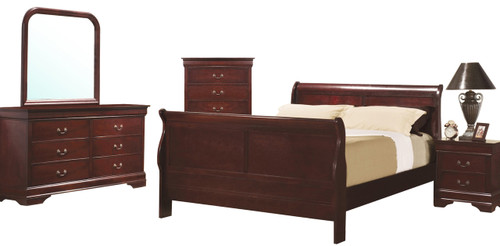 Lafayette Cherry Bedroom Set