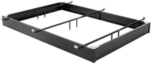 Permaform Full Black Finish Steel Bed Base