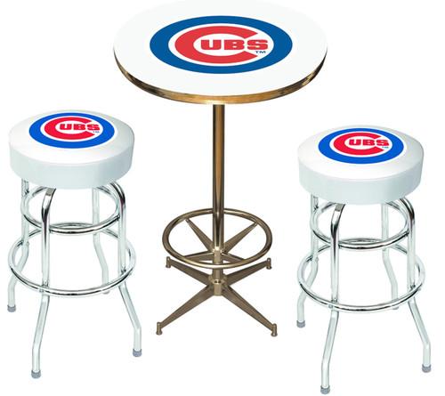 Chicago Cubs Heavy-Duty 3-PC Bar Set