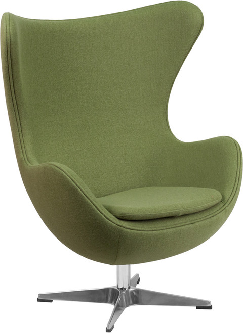 Cruz Green Accent Chair