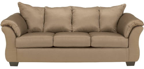 Edeline Mocha Plush Sofa