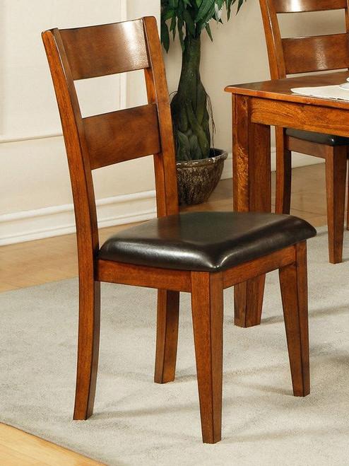 Alonzo Light Oak Side Chair