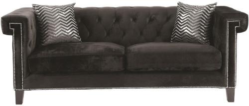 Locklear Black Sofa