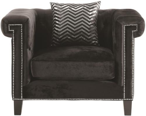 Locklear  Black Chair