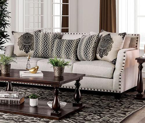 Adorjan Beige Sofa