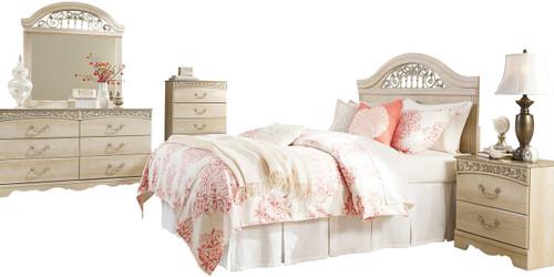 Katia Cream Bedroom Set