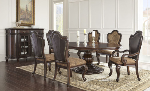 Lillyana Oval Table with Leaf