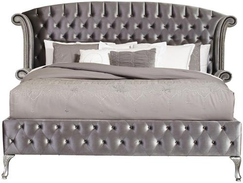 Quinton Silver Bed