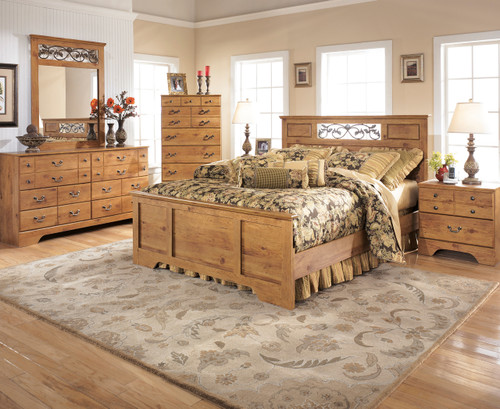 Barrowhill Pine Bedroom Set