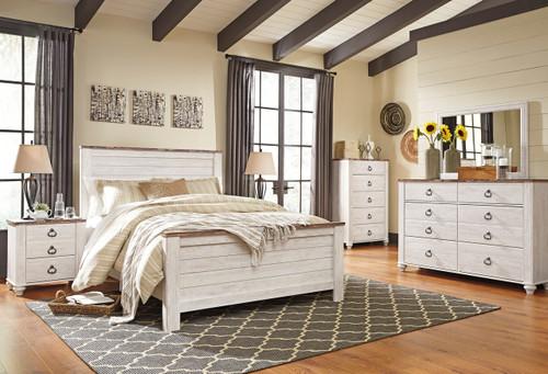 Cresthill White Bedroom