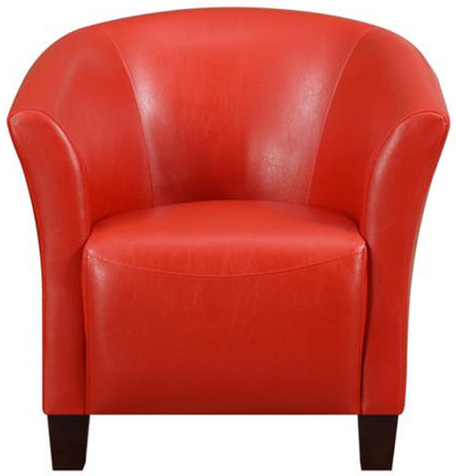 Anda Red Accent Chair