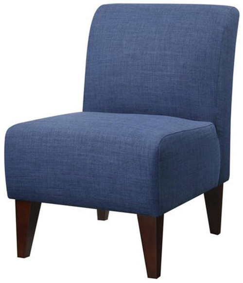 Amie Dark Blue Accent Chair