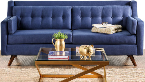 Lotte Blue Sofa