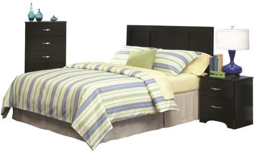 Leone Black Bedroom Set
