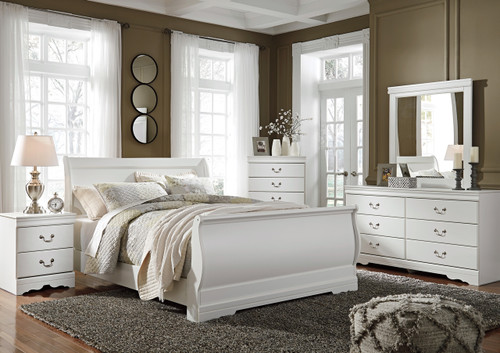 Paris White Bedroom Set