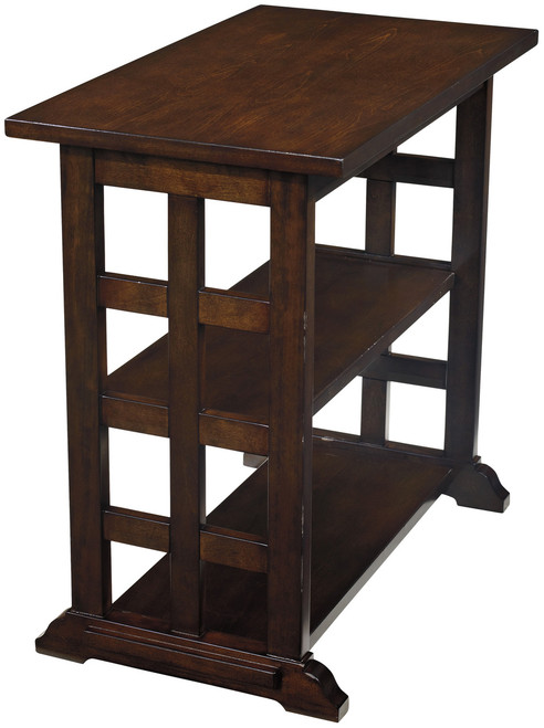 Alberta Lattice Chairside Table