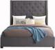 Samara Gray Storage Bed