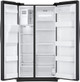 24.5 cu. ft. Side by Side Black Stainless Steel Refrigerator