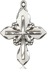 Cross Pendant, Sterling Silver - 6061SS/18SS