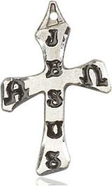 Cross Pendant, Sterling Silver - 6063SS/18SS