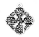 Sterling Silver Irish Celtic Cross - S177924