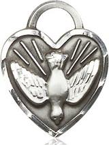 Confirmation Heart Medal