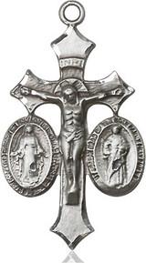 Jesus, Mary & Joseph Medal