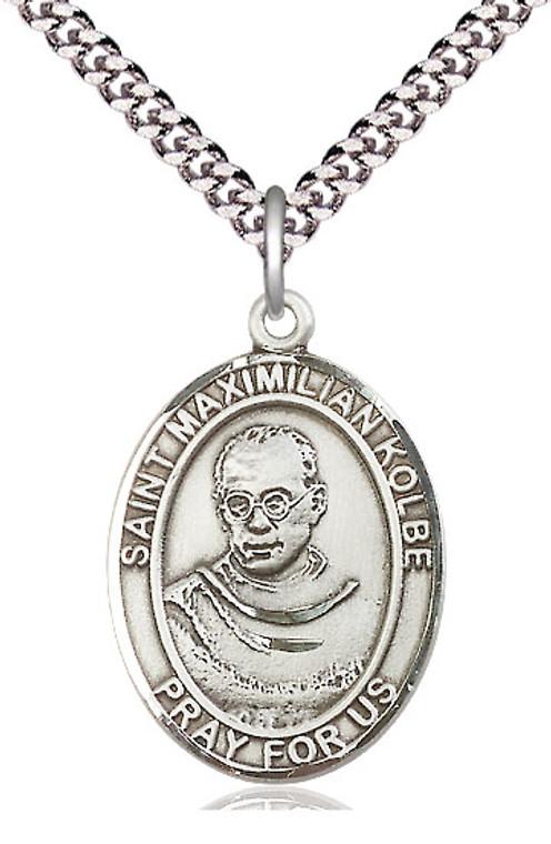 St Maximilian Kolbe Oval Patron Series Medal