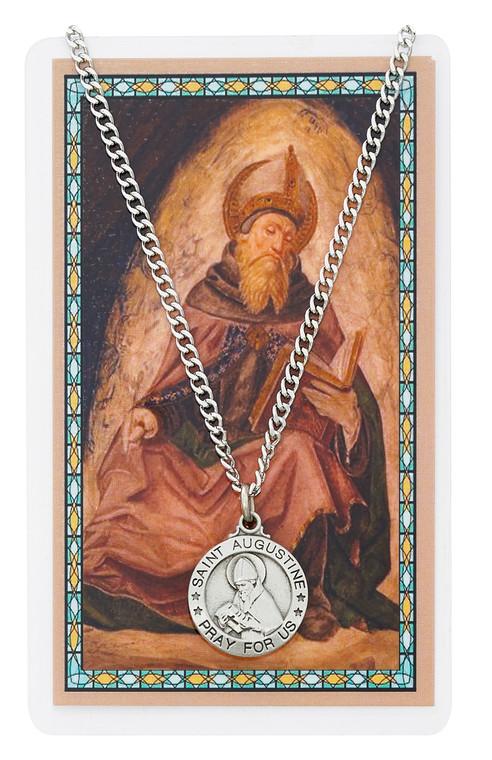 St. AuguSt.ine Prayer Card Set
