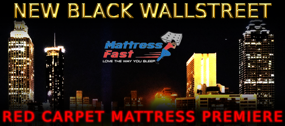 New Black Wallstreet Red Carpet Mattress Premier