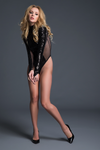 COCO - GLAMOROUS SEQUINS & SHEER BODY