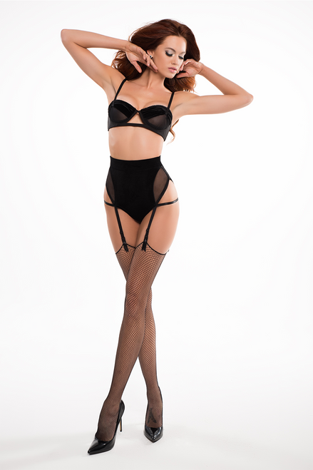 CHLOE - THE LOVE AFFAIR BALCONETTE BRA AND PANTY WITH GARTERS