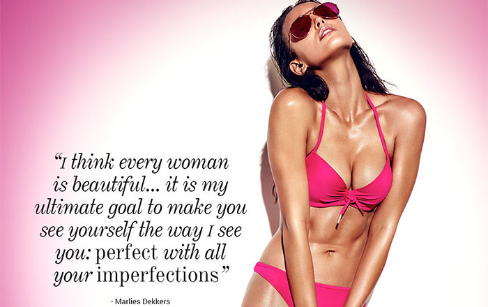 Perfect with all your imperfections…