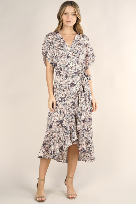 Willow Floral Wrap Dress