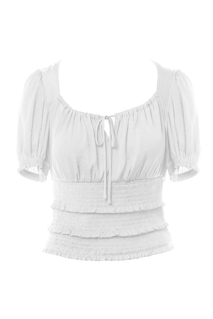 Sia Smocked Top