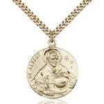 14kt Gold Filled St. Albert the Great Pendant