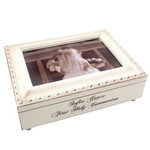 First Communion Frame Music Box - Girl thumbnail 2