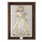 Divine Mercy Wood-Metal Rosary Keepsake Box