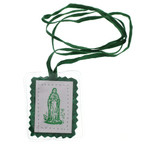 Laminated Green Scapular thumbnail 1