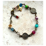 Instrument of Peace St. Francis Bracelet