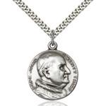 Sterling Silver St. Pope John XXIII Pendant