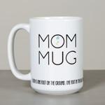 "Mom Mug - Mother Angelica ""Faith"" Quote"